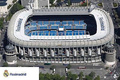 Fußball - Real Madrid Stadion - Druck Poster Plakat - Größe 91,5x61 Cm PüNktliches Timing