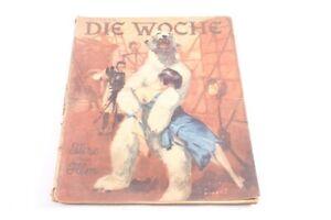 Age-Print-Week-Booklet-6-Animals-At-Film-Old-Vintage-Collector