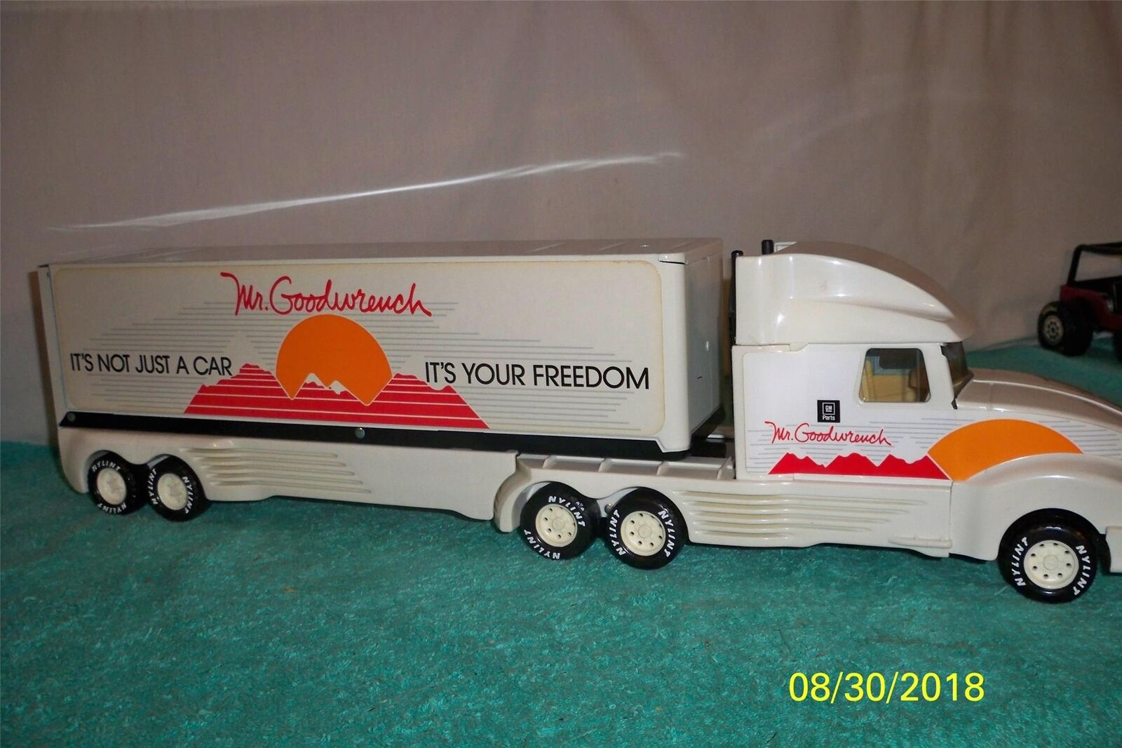 Nylint Mr Goodwrench It Is Not Just A Car Your Freedom Semi-Truck 23 1 2   Long