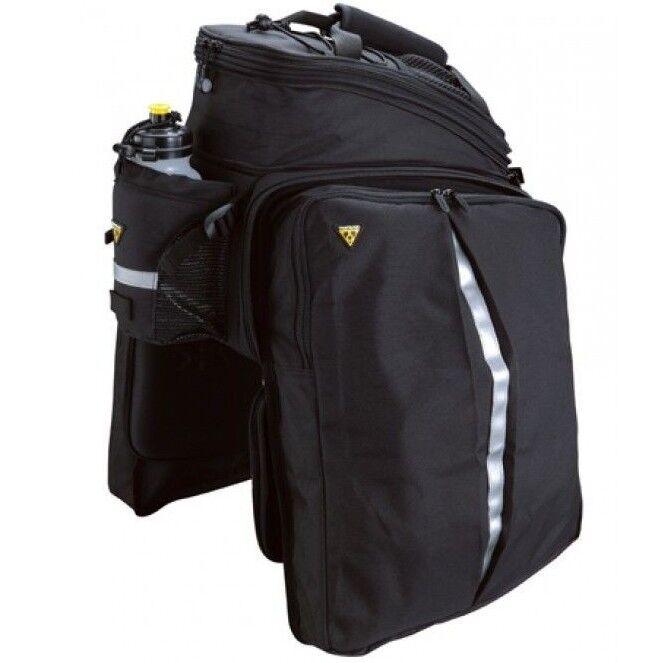 Topeak MTX STRAP DXP  EXPANDABLE TRUNK BAG WITH PANNIERS 36x25x21.5-29cm, 22.6L  up to 65% off