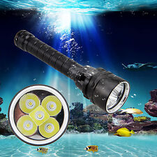 Waterproof 15000Lm 5x XML T6 LED Diving Lampen Taschenlampe Tauchlampe bis 100m