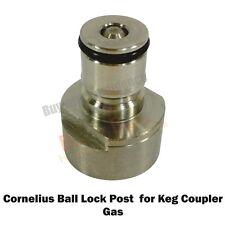 Cornelius Gas Type Ball Lock Post for Keg Coupler- For the home brew hobbyist