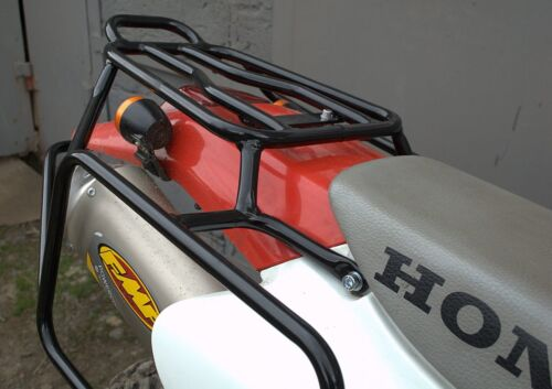Honda XR400R Whole-welded luggage rack carrier system Black Mmoto HON0098 biker