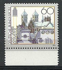 Bund 1993 - Mi.Nr. 1645 - postfrisch - Rand unten - <span itemprop=availableAtOrFrom>Bad Hersfeld, Deutschland</span> - Bund 1993 - Mi.Nr. 1645 - postfrisch - Rand unten - Bad Hersfeld, Deutschland