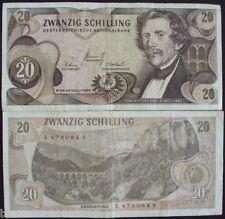 AUSTRIA 20 SHILLINGS # 536
