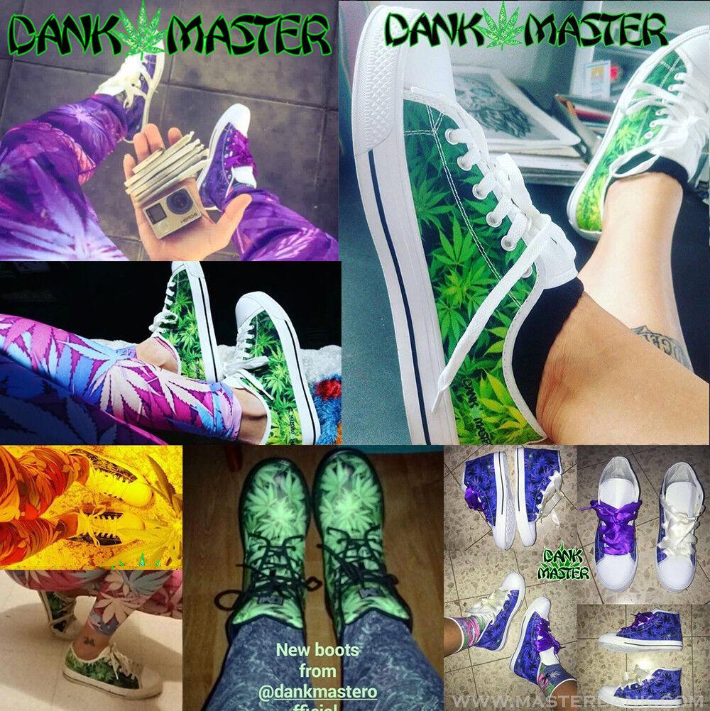 Dank weed Master Damenschuhe Schuhes custom weed Dank leaf marijuana cannabis Turnschuhe 1b7b8b