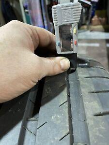 Michelin Pilot Sport 4S 255/35 ZR20 97Y XL Summer Tyres X4 1=4.7mm 1=5mm 2=5mm+
