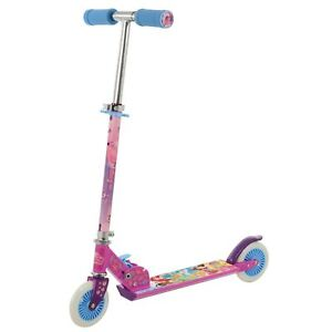 Disney-Princess-Pliable-en-Ligne-Scooter-Enfants-Rose-Age-5