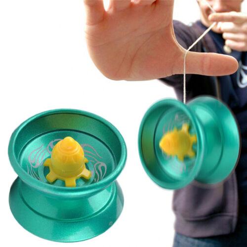 Cool Aluminum Design Professional YoYo Ball Bearing String Trick Alloy Kids NT