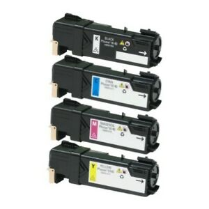 4-x-Laser-Toner-Compatible-For-Printer-Xerox-Phaser-6140-6140N