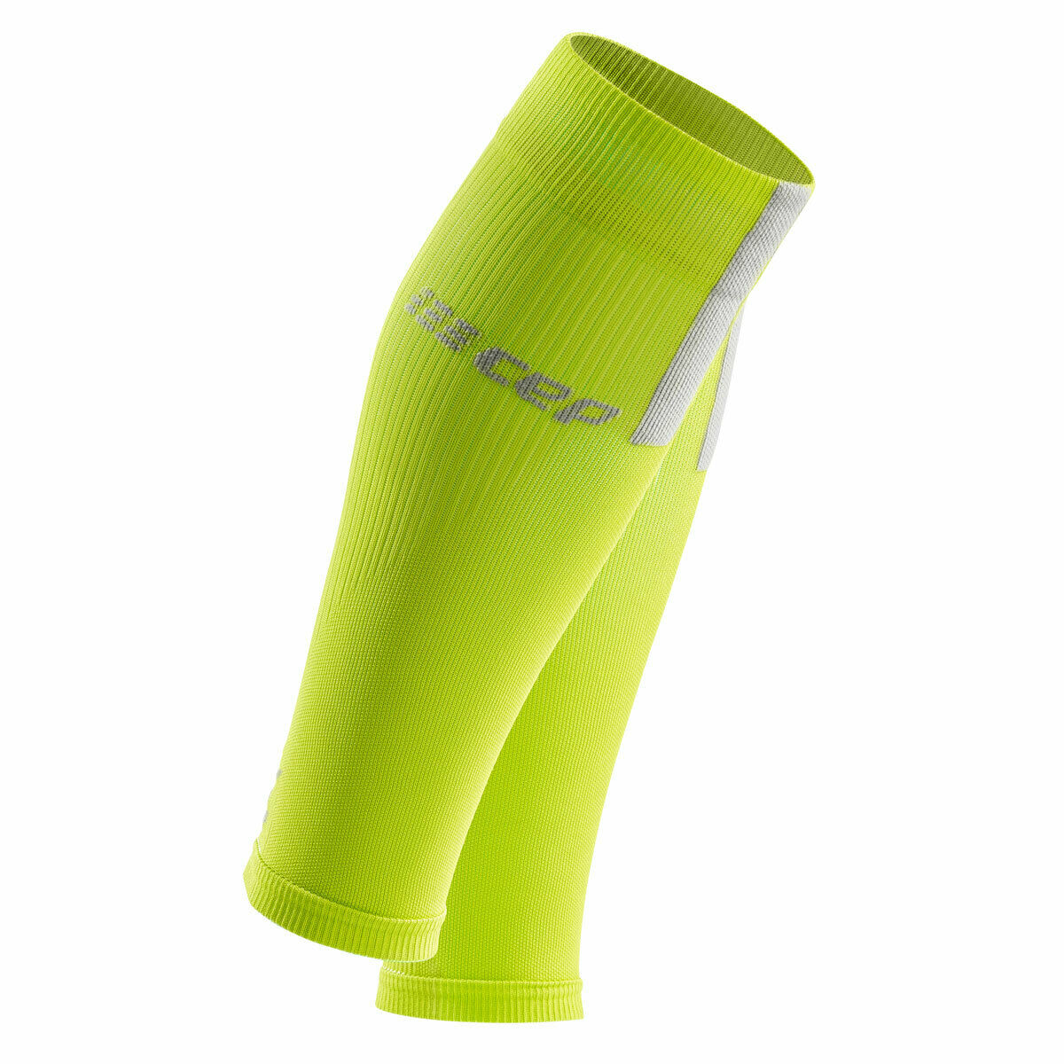CEP COMPRESSION CALF SLEEVES 3.0 Men lime light grey   WS50EX Made in Germany