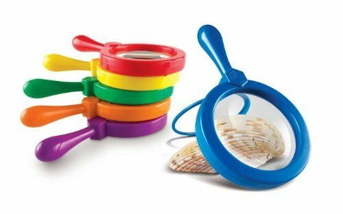 Single Learning Resources Jumbo Magnifying Glass for Kids 1each