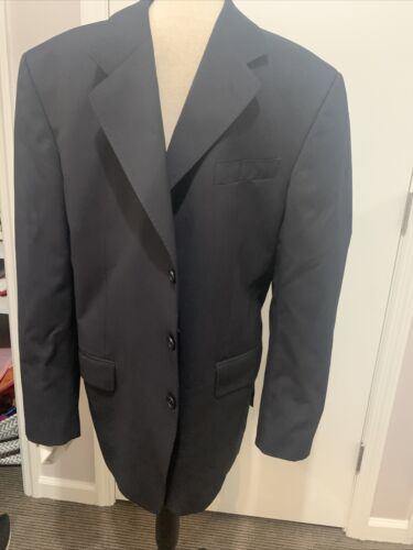 Alesso Navy Pinstripped Suit