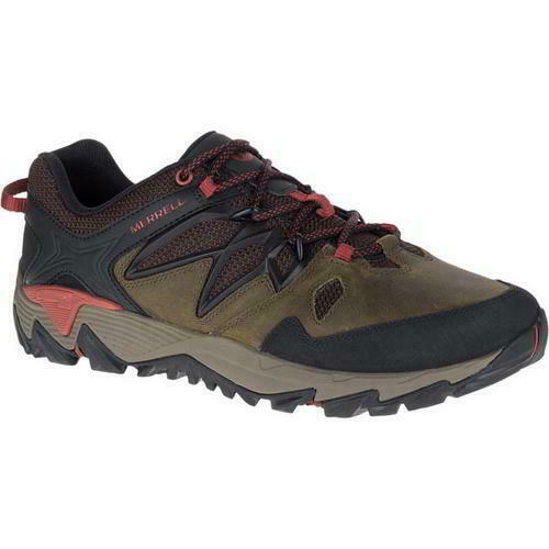 27aacb460 Merrell All out 2 Mens Brown Leather Walking Trainers shoes Size 7- Blaze  Hiking nyrvkc4441-Athletic Shoes