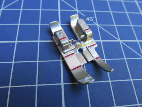 "1//8/"" inch Seam Quilting Patchwork Foot Feet Pfaff 1000-7570 IDT D,E,G,J,K 1//4/"""