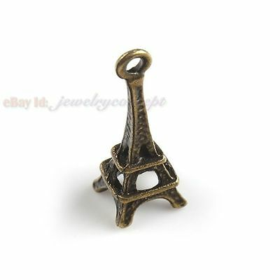 60 New Eiffel Tower Alloy Fancy Pendant FREE P&P 140717