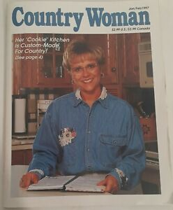 Vintage Country Woman Craft Magazine January/February 1997 DIY Knitting Quilting