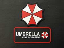 PVC Resident Evil Umbrella Corporation 2 Patch Set VELCRO® Brand Hook Backing