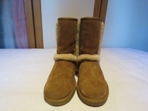 Boots £180 5 Eur Usa Chestnut Suede Pull 39 8 Australia Rrp Uk Carter Ugg® On 6 xYqvAZwxzc