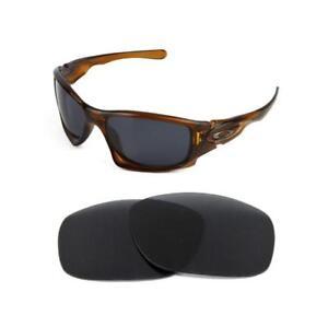 382c4a105a805 polarisées neuves rechange noire verre pour Oakley scalpel Lunettes ...