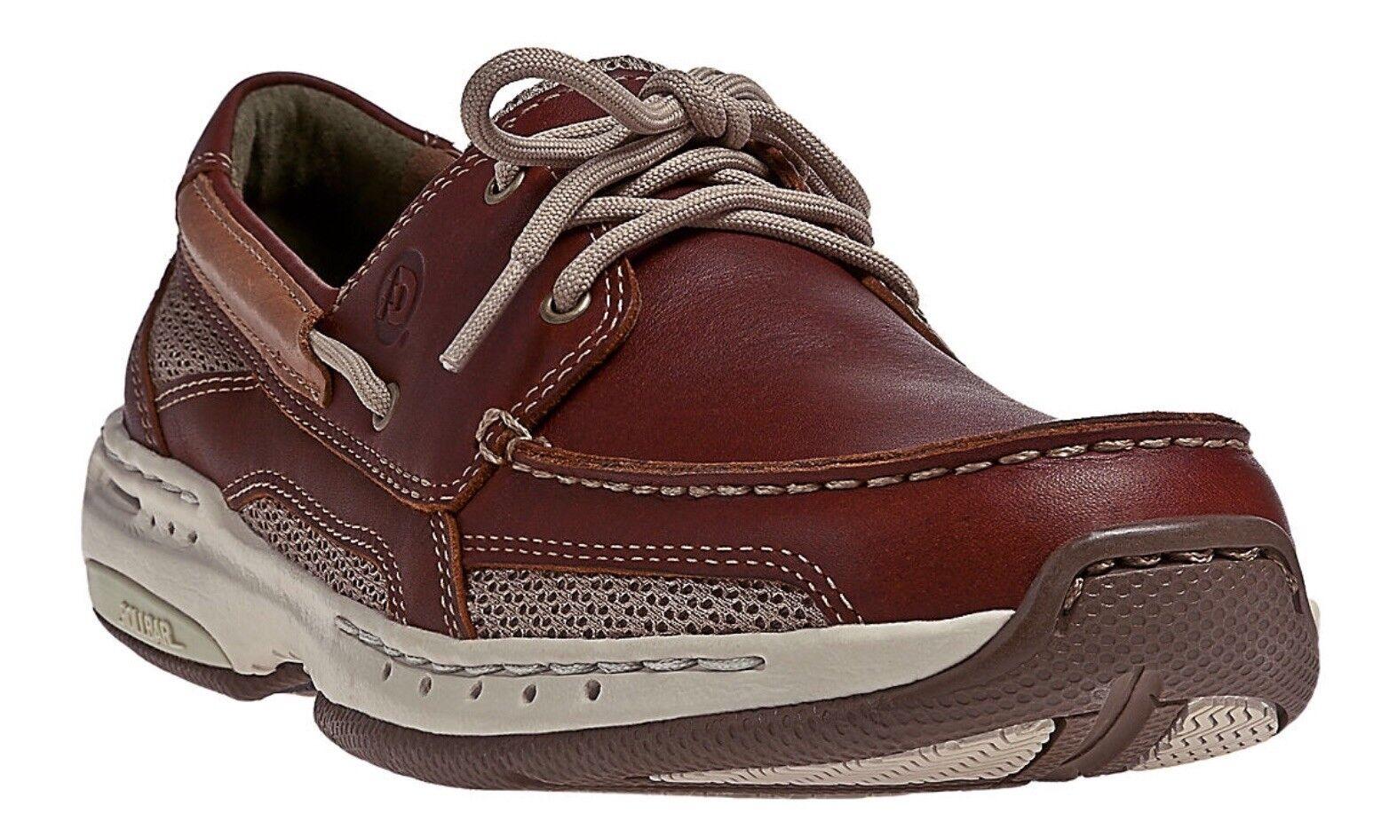 NIB Mens Dunham Captain Non-Slip Lace Up Mesh Comfortable Boat shoes I