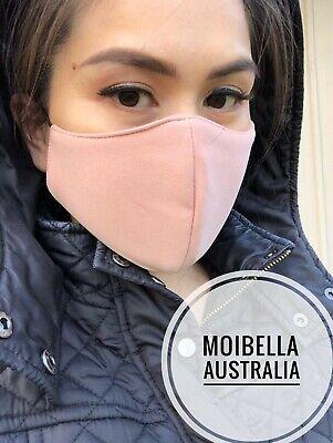 1x Peach Adjustablefacemask Washable Cloth Care Face Mask Peach Nudey Australia Ebay