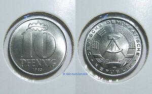 DDR-10-Pfennig-MATT-1963-1989-Jahr-und-Erhaltung-zur-Auswahl