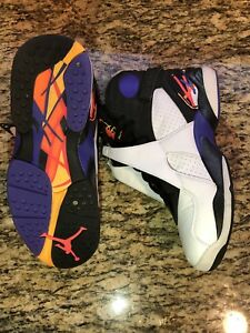 factory price 6618e 6ccdd Image is loading Nike-Air-Jordan-8-VIII-Retro-Three-Peat-
