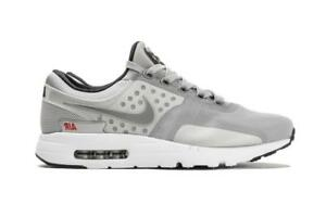 factory price 21d41 4a7da Image is loading Mens-NIKE-AIR-MAX-ZERO-QS-Met-Silver-