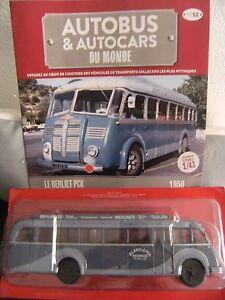AUTOCAR-AUTOBUS-DU-MONDE-MINIATURE-1-43-N-52-Le-BERLIET-PCK-Neuf-Fascicule