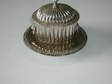 Help?  Handmade Sterling? Serving Dish and Platter from India.  British Rule?