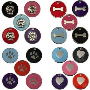 Balises gravé animal chien chat ID Disc disque 32mm disque free post & gravure profonde-afficher le titre d`origine 4oPYkCG9-07183316-625642870