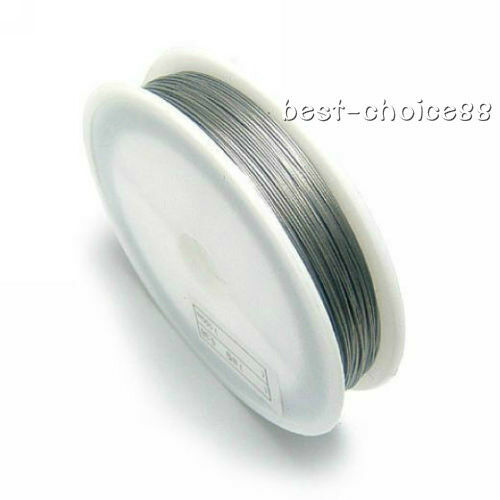 1Roll 0.5/0.8MM  Nickel Steel Wires Beading Wire Jewelry Copper Ropes/Cords