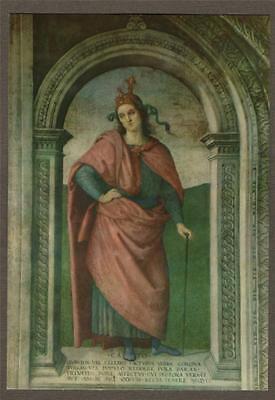 PERUGIA. Collegio del Cambio Perugino Fresco l Postcard Unused ART Italy N.1