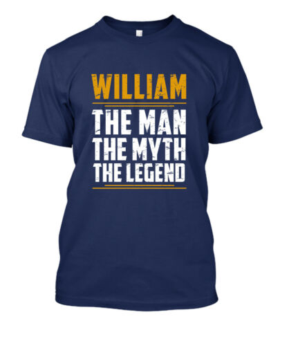 Personalized T-shirt Gift for Dad Husband with NAME The Men The Myth The Legend