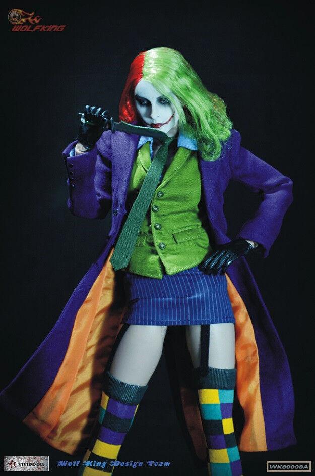NYA KVINNOR 1  6 Kvinnlig Jokern Action Figur
