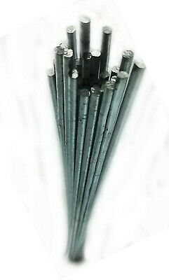 "20 pc 9/"" Free Ship! 2000 Fluxless Aluminum Repair Brazing Rods HTS Low Temp"