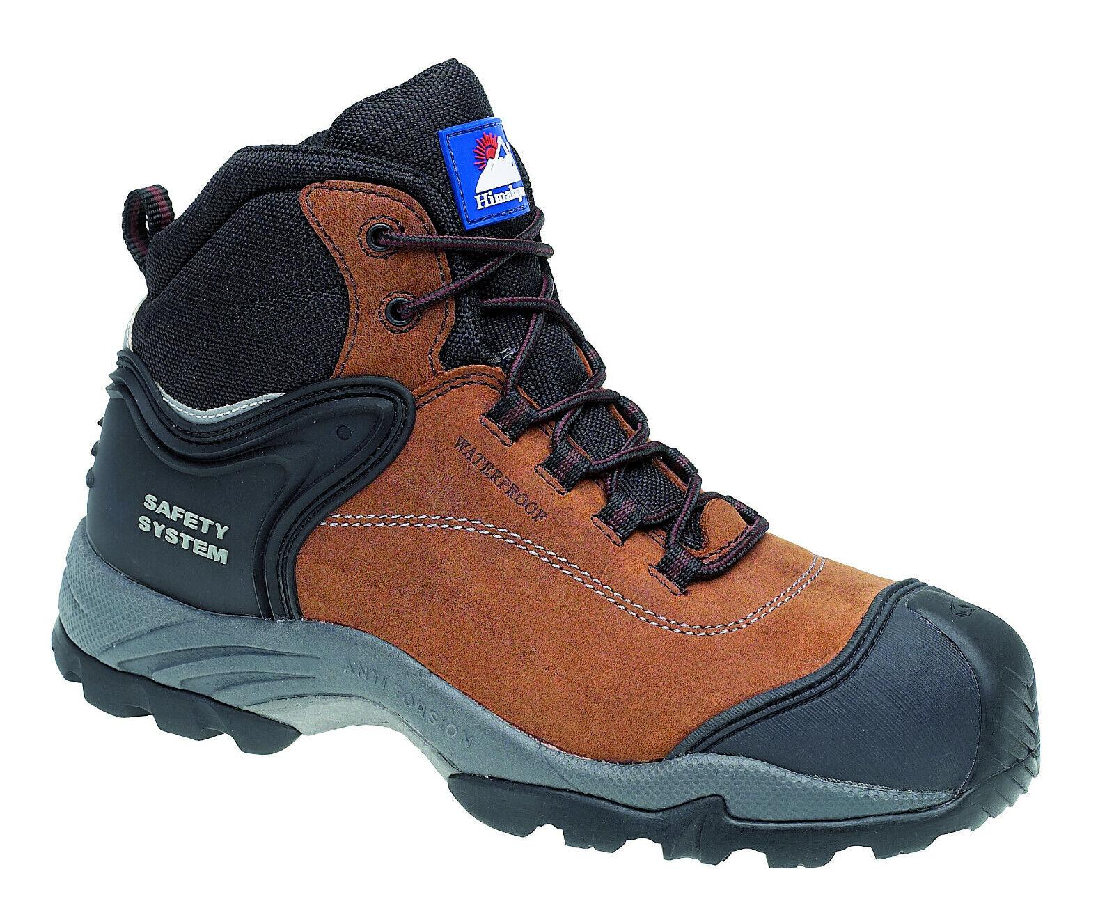 Himalayan 4102 Seguridad botas Hombre gravedad 2 S3 Impermeable Puntera Composite Zapatos