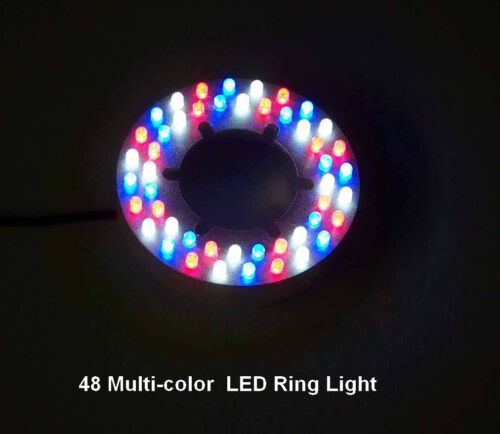 48 LED Red//Blue//White Fountain//Pond Ring Light color changing-low voltage-12v