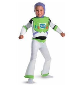Toy-Story-Buzz-Lightyear-Disney-Halloween-Costume-Child-039-s-4-6-NEW-USA-Seller