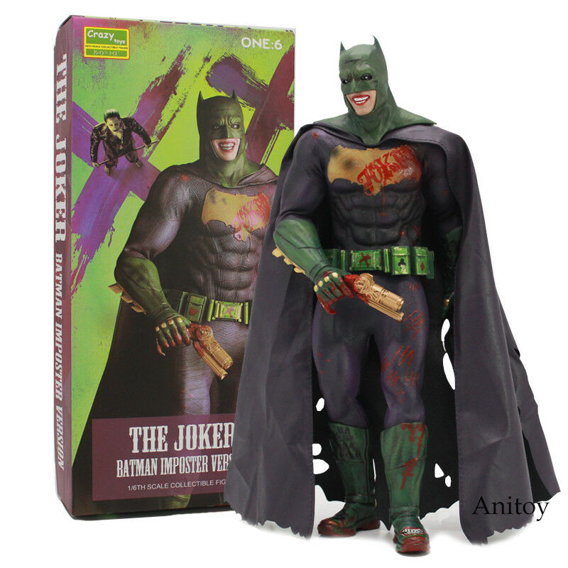 Crazy Toys The Joker Batman Imposter Version Collectible Figure Toy 30CM