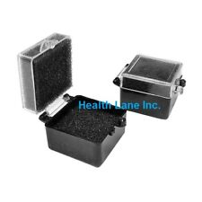 Meta Besqual Dental Laboratory Crown Boxes Clearblack 1 X 1 And 2 X 1