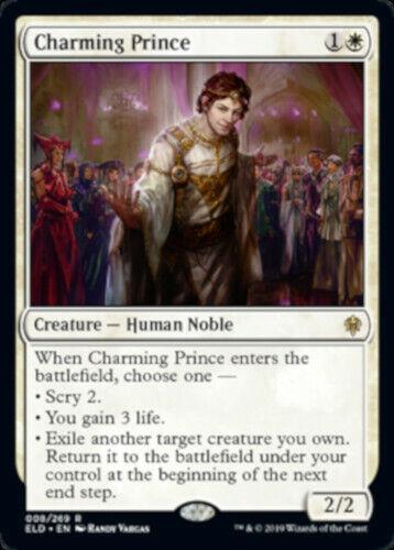 NEW MTG Throne of Eldraine Charming Prince Magic: The ...