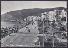 GENOVA SESTRI LEVANTE 131 Cartolina viaggiata 1957