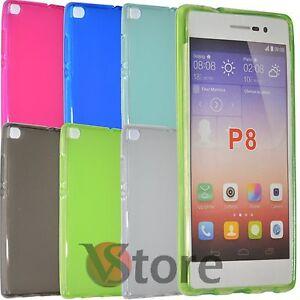 Housse-De-Couverture-Pour-Huawei-P8-Gel-Silicone-TPU-Arriere-Opaque