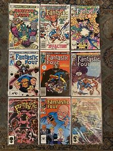 Fantastic-Four-Marvel-Comic-Lot-208-250-51-253-55-270-300-Annual-18-VF-To-VF-NM