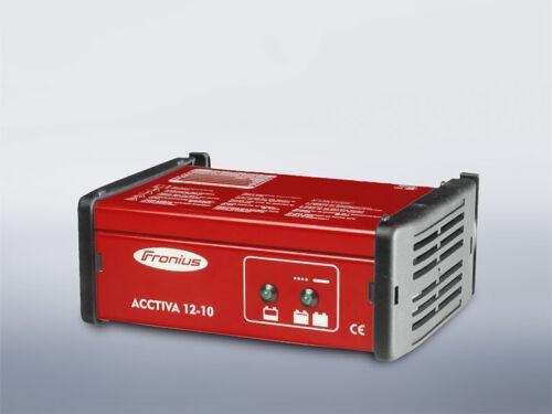 Cargador de batería Fronius acctiva estándar 12-10 nuevo//en el embalaje original