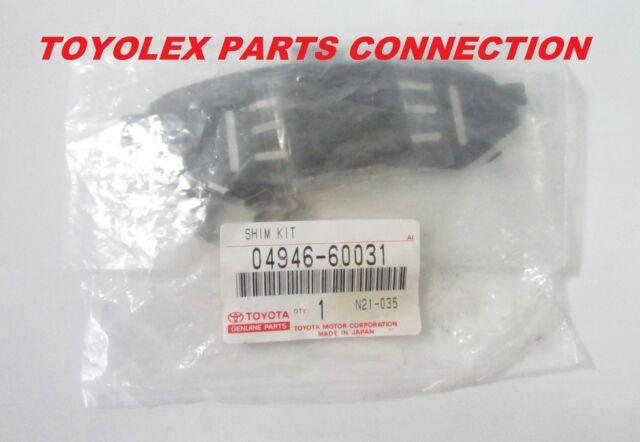 98-07 LX470 Rear Brake Pad Shims NEW genuine Lexus OEM 04946-60031