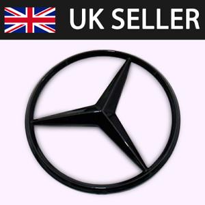 Mercedes C Class 2008-14 W204 Rear Boot Lid Badge Star Gloss Black A2047580058
