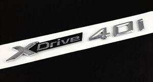 XDrive 35i Emblem Badge Decal Trunk Car Sticker BMW X4 X5 X6 F26 F25 F16 E70 SUV